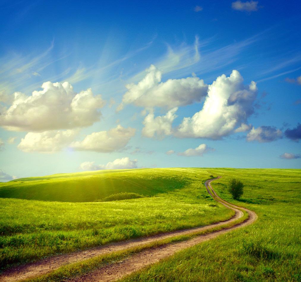 То наступило лето яркое голубое небо